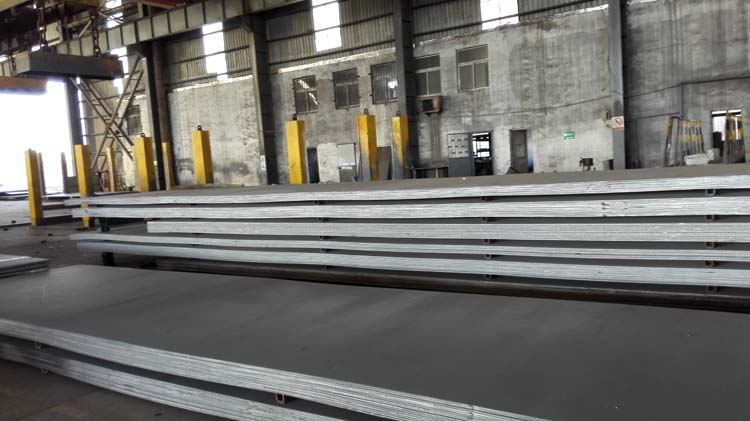Hot rolled carbon JIS G3106 SM490B steel plate