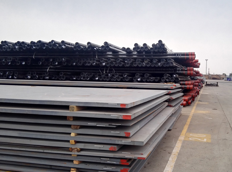 Carbon and high strength DIN 17100 St52-3 steel plate